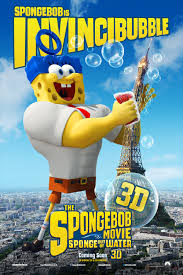 spongebob squarepants the movie character posters