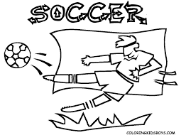 soccer coloring pages printable coloring home