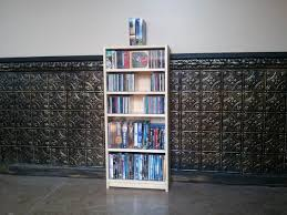 shallow bookcase for paperbacks cd dvd bookcase paperback novel shallow depth bookcase