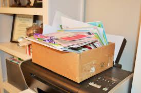 keepsake greeting card storage