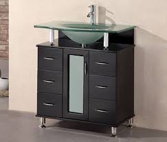 Modern Sinks Bathroom Glass Modern Bathroom Sinks With Glass Top Vanity Aso