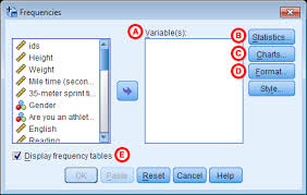 Relative Frequency Table Definition Frequency Tables Spss Tutorials Libguides At Kent State University
