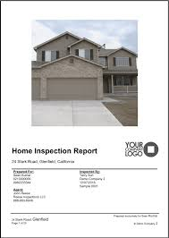 property inspection report template sample reports snapinspect home inspection v2