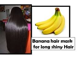 banana for hair banana hair mask for shiny glossy hair remedy snb