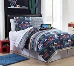 Corvette Comforter Set Train Twin Bed Foter