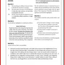 2nd grade reading comprehension passages with multiple choice