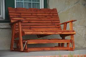 adirondack glider bench plans bench decoration