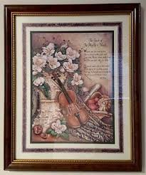 vintage home interiors vintage home interiors homco touch of the masters framed