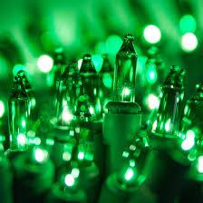 lights 100 green tree mini lights 2 5