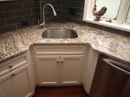 Corner Sink Kitchen Rug Corner Sink Transitional Kitchen Newark By Kraftmaster In Sinks