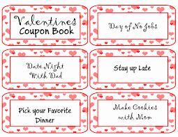 valentine u0027s day coupon book free printable redo mom