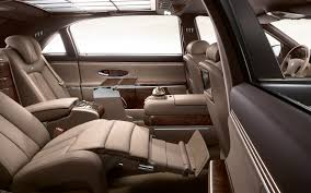 mercedes s class rear seats mercedes s class to receive hyper luxury variants the fast