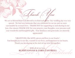 thanksgiving card wording wedding thank you card examples lilbibby com