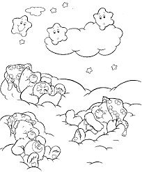 kids coloring pages care bear coloring pages