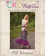 pattern for simple long skirt savvy s womens split maxi skirt pdf pattern