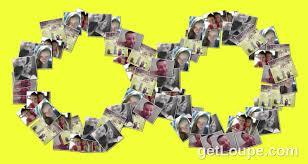 family infinity symbol loupe collage loupe