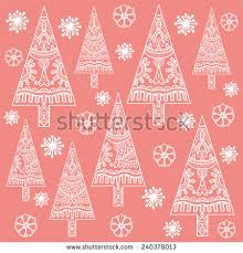 hand drawn tepee pattern seamless vector stock vector 378156748