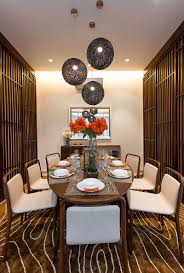 dinning rooms smalll asian dining room with oval dining table