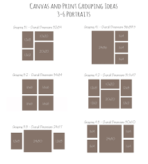 canvas and print grouping ideas home decor ideas pinterest