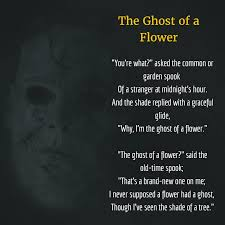 The Ghost Of Halloween by Halloween Poems Funny Halloween Poems Glendalehalloween