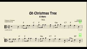oh christmas tree free sheet music rainforest islands ferry