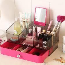 Makeup Organizer Desk by Acrylic Makeup Organizer Drawer Box Cosmetic Storage Desk Bathroom