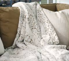 Cheap Faux Fur Blanket Dennis Basso 68x60 Oversized Sculpted Faux Mink Throw Page 1