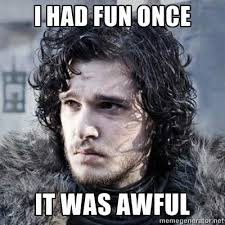 Jon Snow Memes - kit harington has no idea about that sad jon snow apos game of