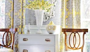 curtains endearing gorgeous yellow living room curtain ideas