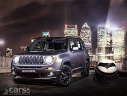 jeep light bar at night jeep renegade night eagle limited edition arrives in the uk