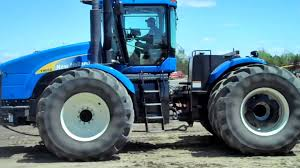 new holland t9050 tractor sold on els youtube