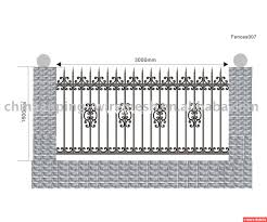 ornamental wrought iron fence supplies hungrylikekevin