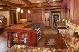 kitchen design rustic modern kitchen design with natural stone