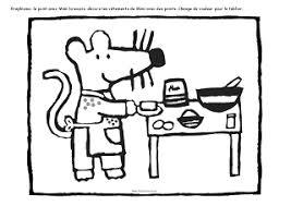 souris dans la cuisine graphisme chandeleur crêpe recette cuisine mimi la souris mat