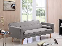 canap clic clac confortable deco confort canapé clic clac banny gris clair