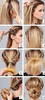 Coole Frisuren Lange Haare Selber Machen by Schön 12 Frisuren Selber Machen Anleitung Mittellange Haare