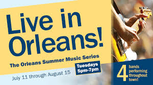 live in orleans the orleans summer music series