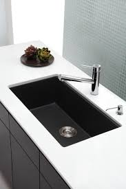 Impressive Black Kitchen Sink Single Bowl Home Kitchen  Quot - Black granite kitchen sinks