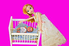 frozen anna kristoff barbie kids family parody baby kristoff