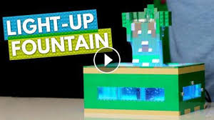you need this lego light up desk fountain in your life brick x brick