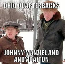 Christmas Story Meme - shooter mcgavin on twitter the current ohio nfl quarterbacks as