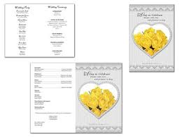 printing wedding programs wedding programs fast home wedding programs fast