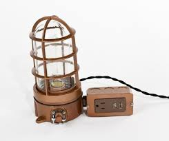 lamps with outlets an led desk lamp with usb port and power