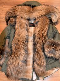 american parka with fur military parka coat raccoon fur for
