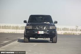 nissan patrol vtc 2016 1 400hp at the wheels not your typical nissan patrol speedhunters