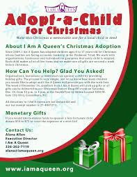 help i am a queen bless a child for christmas mykel media company