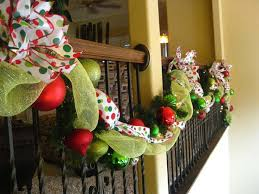 Christmas Decorations Banister Beautiful Christmas Decorations That Turn Your Staircase Into A