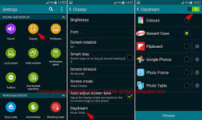 daydream android samsung galaxy s5 how to enable and configure daydream in android