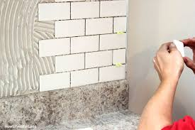 installing kitchen backsplash tile how to install a kitchen backsplash the best and easiest tutorial