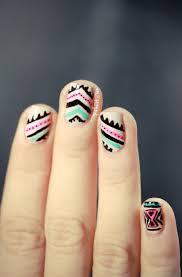 ooh la trend tribal nail art the nest